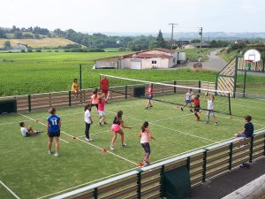 Volley entre copains